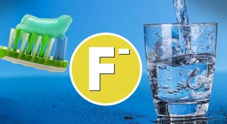 فلوروسیس:ایجاد لکه های سفید روی دندان ناشی از مصرف زیاد فلوراید
